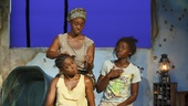 Pascale Armand as Bessie, Saycon Sengbloh as Helena, and Lupita Nyong'o as Girl in Eclipsed