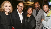 The Color Purple - Opening - 12/15 - Gloria Steinem, George C Wolfe, Phylica Rashad, Emilio Sosa and Savion Glover