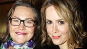 Merchant of Venice Opening night – Cherry Jones – Sarah Paulson