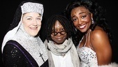 Sister Act Opening Night –  Victoria Clark – Whoopi Goldberg – Patina Miller