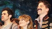 Peter and the Starcatcher Opening Night – Adam Chanler-Berat – Celia Keenan-Bolger – Christian Borle