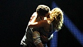 Before heading to their party, Ghost stars Richard Fleeshman and Caissie Levy give the audience one last taste of what makes them such a steamy onstage couple.