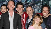 Neil Patrick Harris & More at Starcatcher – Peter and the Starcatcher cast - Neil Patrick Harris
