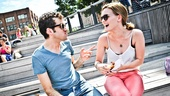Broadway Besties - Adam Chanler-Berat and Jennifer Damiano