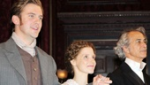 The Heiress – Opening Night – Dan Stevens – Jessica Chastain – David Strathairn