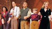 'A Christmas Story' Opening Night — Caroline O'Connor — John Bolton — Dan Lauria — Johnny Rabe — Erin Dilly — Zac Ballard