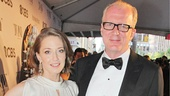 Tony Red Carpet- Carrie Coon- Tracy Letts