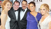 Tony Red Carpet- Victoria Clark- Richard Kind- Tom Hanks- Rita Wilson- Jane Krakowski