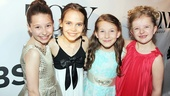Tony Red Carpet- Bailey Ryon- Oona Laurence- Sophia Gennusa- Milly Shapiro