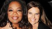 After Midnight - backstage - OP - 5/14 - Oprah Winfrey - Maria Shriver