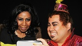 Aladdin - backstage - 9/14 - Aretha Franklin - Don Darryl Rivera