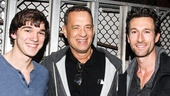 THe Last Ship - Backstage - 10/14 - Collin Kelly-Sordelet - Tom Hanks - Aaron Lazar