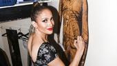 Hamilton - backstage - 8/15 - Jennifer Lopez
