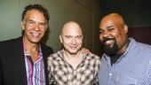 Fun Home - Actors Fund performance - 8/15 - Brian Stokes Mitchell, Michael Cerveris and James Monroe Iglehart