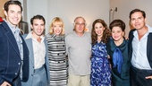 Beautiful: The Carole King Musical - backstage - Robert DeNiro -  - 9/15 - Scott J. Campbell, Jarrod Spector, Jessica Keenan Wynn, Robert DeNiro, Chilina Kennedy, Liz Larson and Paul Anthony Stewart