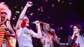 Hedwig and the Angry Inch - Taye Diggs - closing - 9/15 - Rebecca Naomi Jones, Taye Diggs, Neil Patrick Harris and Darren Criss