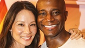 Hedwig and the Angry Inch - Taye Diggs - closing - 9/15 - Lucy Liu and Taye Diggs