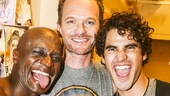 Hedwig and the Angry Inch - Taye Diggs - closing - 9/15 - Taye Diggs, Neil Patrick Harris - Darren Criss