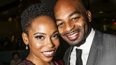 Trip of Love - Opening - 10/15 - Dionne Figgins- Brandon Victor Dixon (couple were in Motown together))
