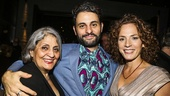 The Humans - Opening - 10/15 - Arian Moayed with his mother Parvein Saedi and wife Krissy Shields