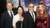 On Your Feet! - Opening - 11/15 - Tommy Mottola, Gloria Estefan, Emilio Estefan and Thalia