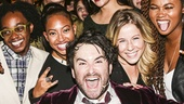 School of Rock - First Preview - Original Film Stars - Backstage - 11/15 -