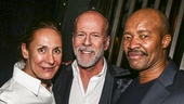 Misery - Opening - 11/15 - Laurie Metcalf and Bruce Willis Leon Addison Brown