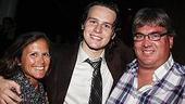 2008 Hair Opening - Jonathan Groff - parents