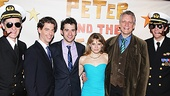Peter and the Starcatcher Opening Night – Roger Rees – Christian Borle - Adam Chanler-Berat – Celia Keenan Bolger – Rick Elice – Alex Timbers