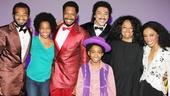 Diana Ross at 'Motown' — Brandon Victor Dixon — Rhonda Ross Kendrick — Bryan Terrell Clark — Charl Brown — Raymond Luke Jr — Diana Ross — Valisia LeKae