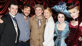 A Gentleman's Guide to Love and Murder - Backstage - OP - 5/14 - Bryce Pinkham - Hugh Dancy -  Jefferson Mays - Claire Danes - Lauren Worsham - Lisa O'Hare