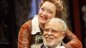Kristine Nielsen as Penelope Sycamore & James Earl Jones as Martin Vanderhof in You Can't Take It With You