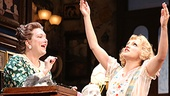 Kristine Nielsen as Penelope Sycamore & Annaleigh Ashford as Essie Sycamore in You Can't Take It With You