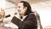 Hamilton - Broadway annoucement - 2/15 - Lin-Manuel Miranda