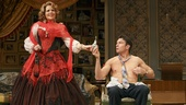 Renee Fleming as Raquel DeAngelis & Jerry O'Connell as Robert Samson in Living on Love