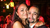 Hamilton - Opening - 8/15 - Lin-Manuel Miranda and Karen Olivo