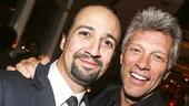 Hamilton - Opening - 8/15 - Lin-Manuel Miranda - Jon Bon Jovi