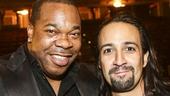 Hamilton - Opening - 8/15 - Busta Rhymes and Lin-Manuel Miranda