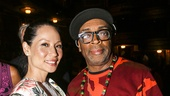 Hamilton - Opening - 8/15 - Lucy Liu and Spike Lee