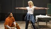 Ryan Quinn as Source and Sherie Rene Scott as The Volunteer in Whorl Inside a Loop