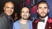 On Your Feet! - Opening - 11/15 - Christopher Jackson, Lin-Manuel Miranda and Josh Segarra