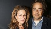 Misery - Opening - 11/15 - Ana Gasteyer and husband Charlie McKittrick