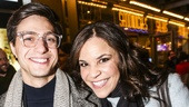 Noises Off - Show Photos - 1/16 - Gideon Glick and Lindsay Mendez
