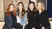 Waitress - Media Day - 3/16 - Choreographer Lorin Laterro, composer Sara Bareilles, director Diane Paulus, scribe Jessie Nelson