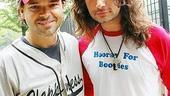 Broadway Softball May 2009 – Hunter Foster – Constantine Maroulis