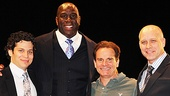 Magic.Bird Opening Night – Thomas Kail – Magic Johnson – Peter Scolari - Eric Simonson
