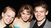 Peter and the Starcatcher Opening Night – Maggie Keenan-Bolger – Celcia Keenan-Bolger – Andrew Keenan-Bolger