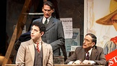 Act One - Show Photos - PS - 4/14 - Steven Kaplan, Amy Warren - Santino Fontana - Bob Stillman - Will LeBow