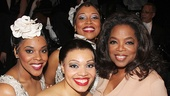 After Midnight - backstage - OP - 5/14 - Bryonha Marie Parham - Carmen Ruby Floyd -  Rosena M. Hill Jackson - Oprah Winfrey