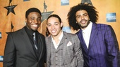 Hamilton - Opening - 8/15 - Okieriete Onaodowan, Anthony Ramos and Daveed Diggs